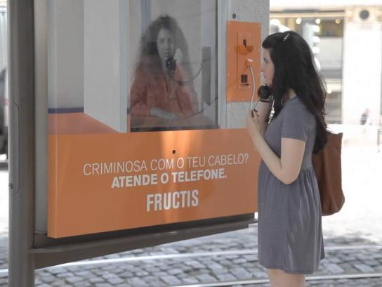 Fructis Outdoor Ad -  Visit day