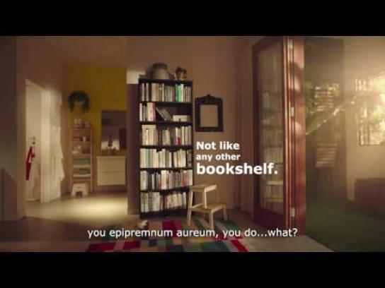 IKEA Film Ad - Not Like Any Other Book Case
