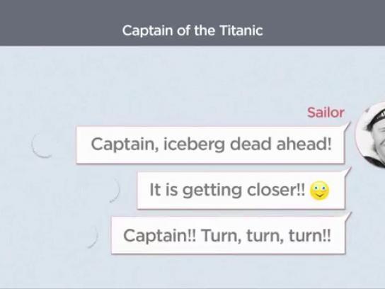 Unopar Film Ad -  Titanic