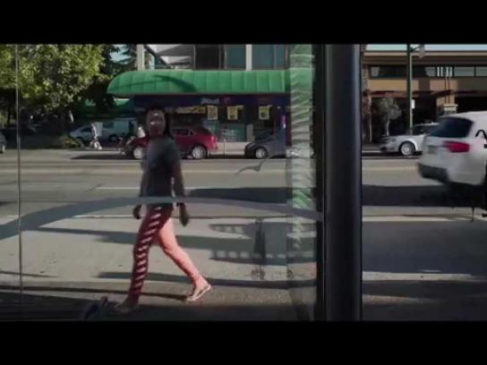 McDonald's Outdoor Ad -  Peach shades