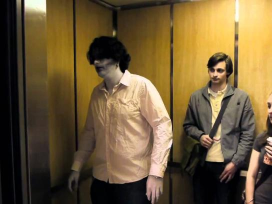 Sears Film Ad -  Zombie Elevator