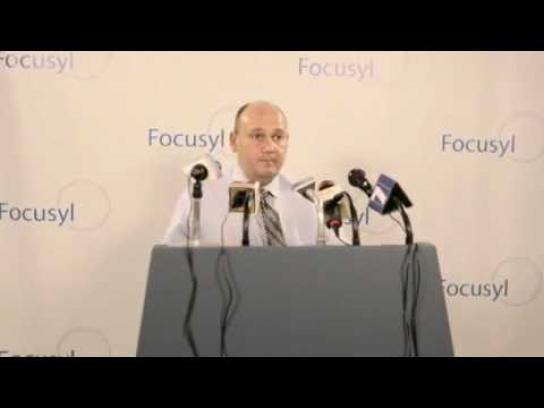 Focusyl Film Ad -  Press Release, Kristen Stewart