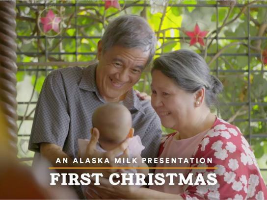 Alaska Milk Corporation Content Ad - First Christmas