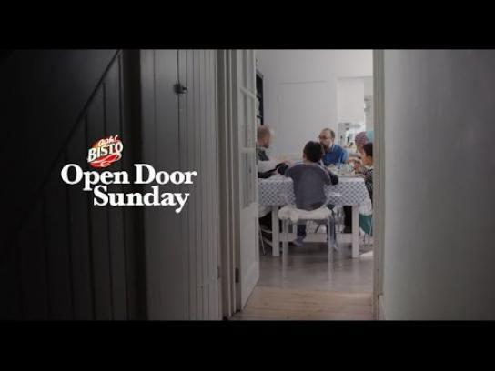 Bisto Content Ad - Open door sunday
