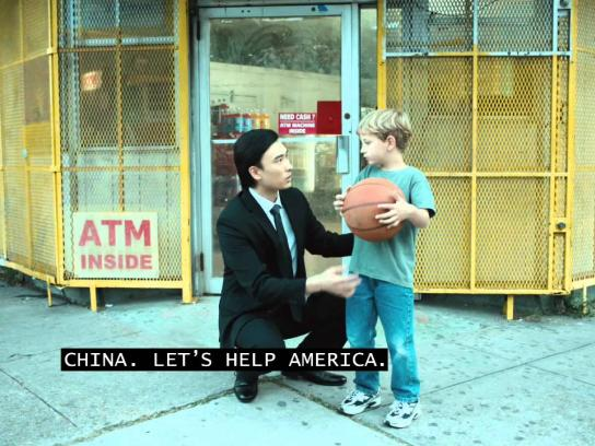 Great Nations Eat Film Ad -  China for America
