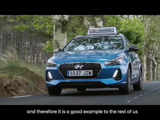 Hyundai Experiential Ad - Support Vehicle