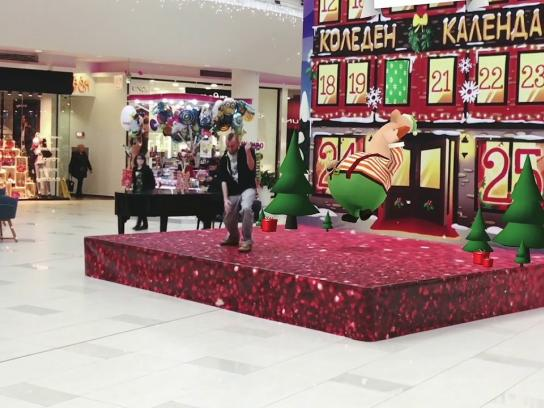 Bulgaria Mall Experiential Ad - AR Advent Calendar