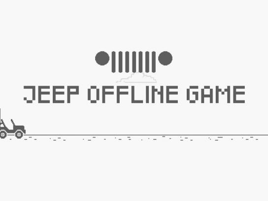 Jeep Digital Ad - Offline Game