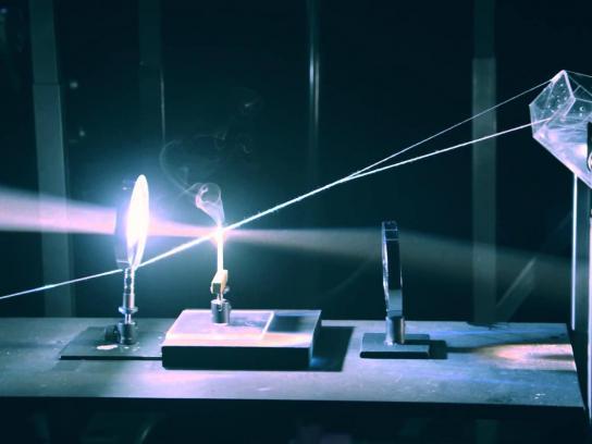 au Hikari Digital Ad -  Power of Optics