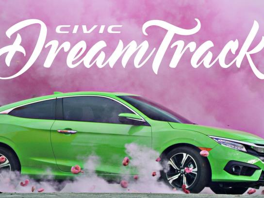 Honda Digital Ad - Civic Dream Track