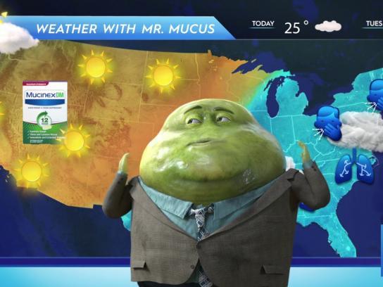 Mucinex Film Ad - Mucus Report