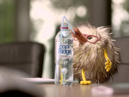 Cool Ridge Film Ad -  Lightly sparkling
