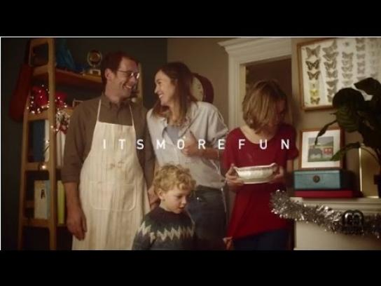 Scrabble Film Ad -  Anagram Christmas
