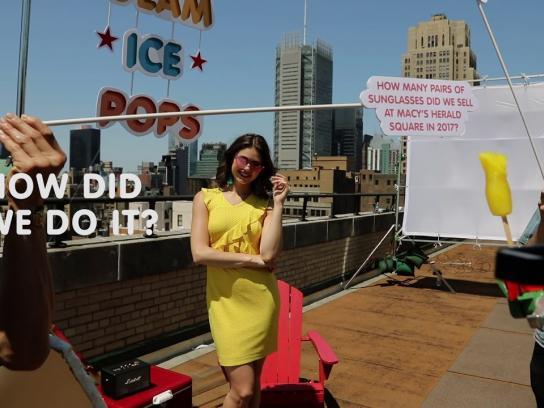 Macy's Digital Ad - Glam Ice Pops