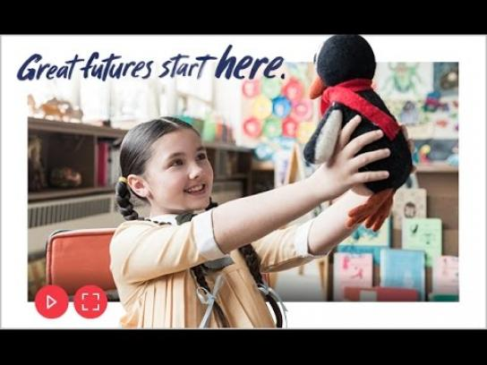 Boys and Girls Clubs of Canada Film Ad -  Great futures start here - Dr Jean Clinton