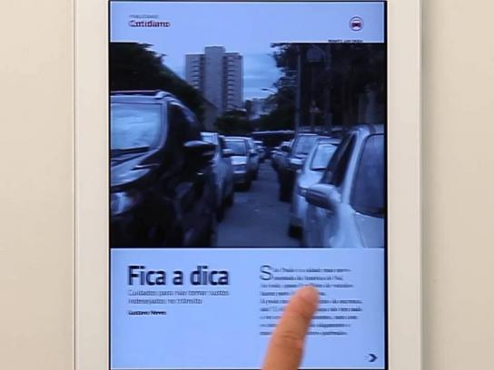 Volkswagen Digital Ad -  Blind spot