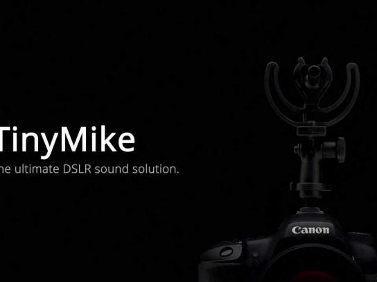 Ambient Recording Digital Ad -  Tiny Mike