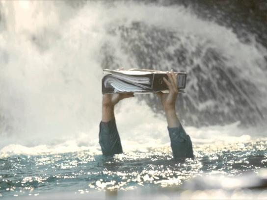 Lipton Film Ad -  Waterfall