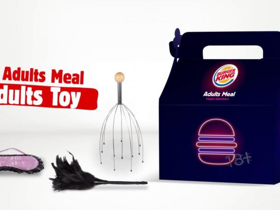 Burger King Direct Ad - Adults toy