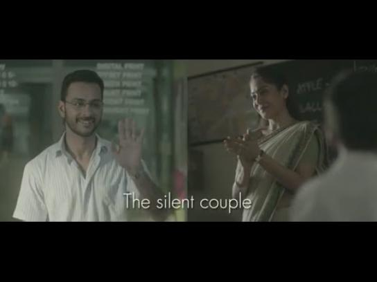 Philips Film Ad -  The silent couple