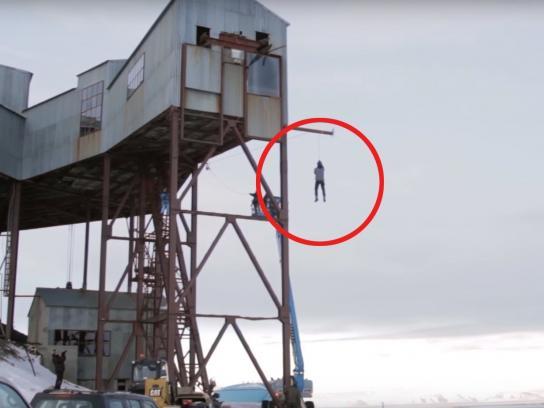 NRK Film Ad -  Free fall