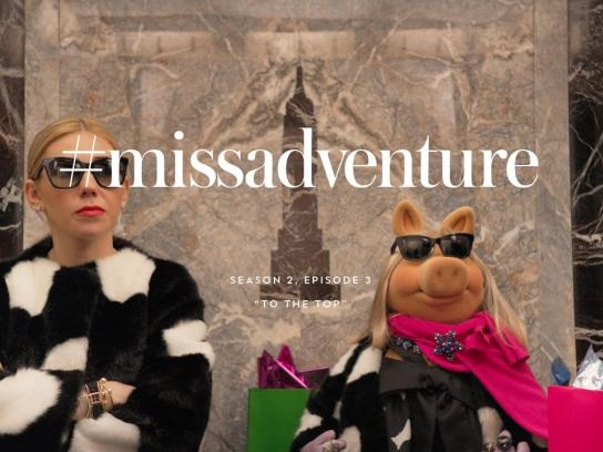 Kate Spade Film Ad - Miss Adventure, To the top
