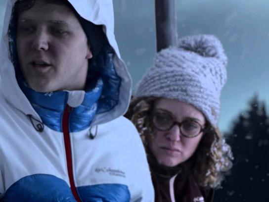 Columbia Film Ad -  Ski rescue
