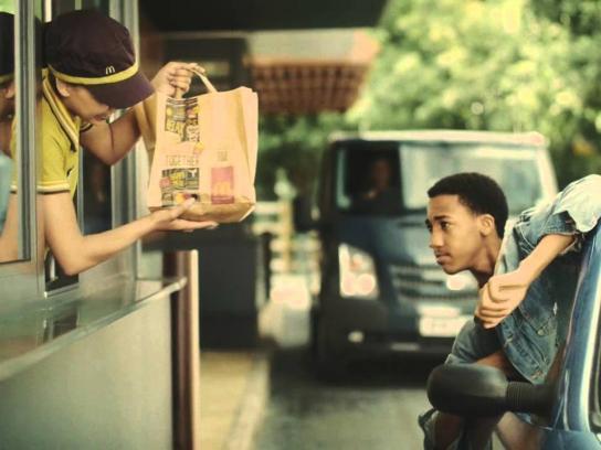 McDonald's Film Ad -  Just passed test drive thru
