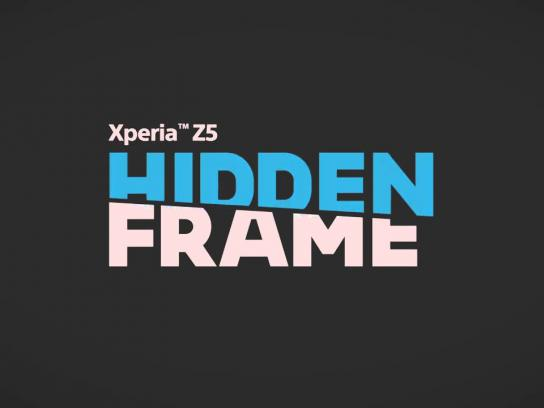 Sony Digital Ad -  The Hidden Frame
