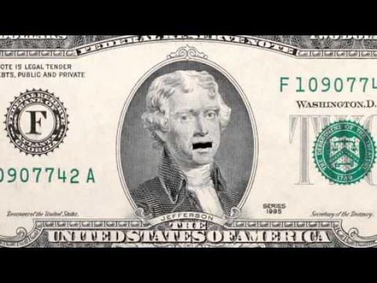 American Institute of CPAs Film Ad -  2 Dollar Bill