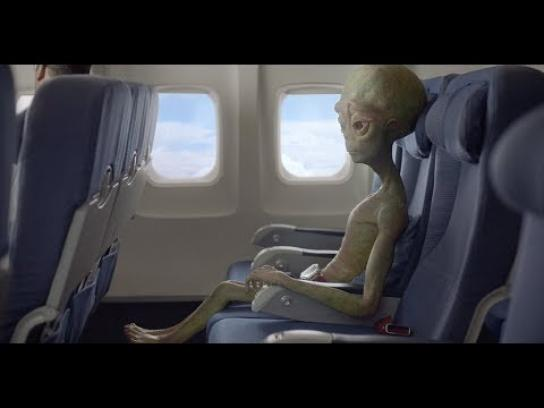 Amtrak Film Ad - Alien