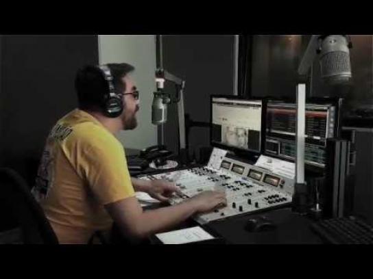 Mix Radio Audio Ad - Crash text music