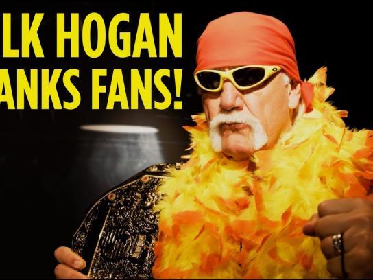 Madame Tussauds Experiential Ad - Hulk Hogan Pranks Fans
