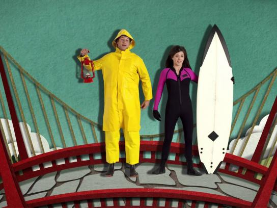 Credit Unions of Canada Film Ad -  Ding Free from Sea to Sea