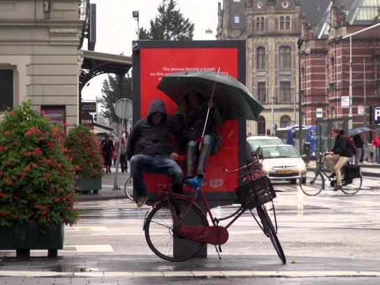 Kit Kat Outdoor Ad -  Have a seat