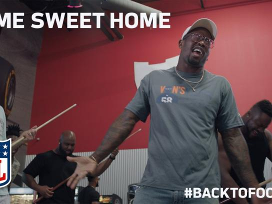 NFL Film Ad - Home sweet home