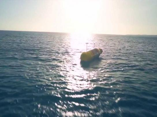 Solo Ambient Ad -  The world's largest message in a bottle
