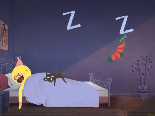 Samsung Digital Ad -  Holiday Dreams