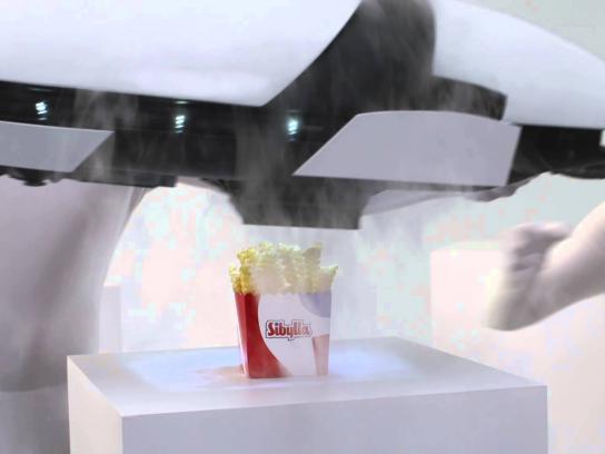 Sibylla Film Ad -  Laser