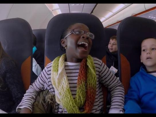 EasyJet Experiential Ad - My first flight