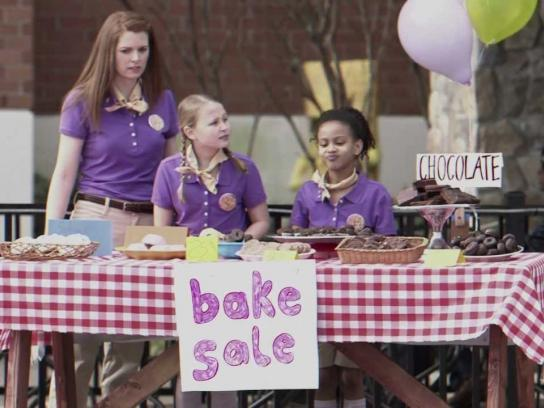 Kellogg's Digital Ad -  Bake Sale Dancing Cereal Prank