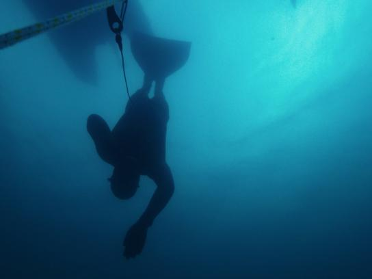 Finlandia Vodka Digital Ad -  Journey from the source - Free diving