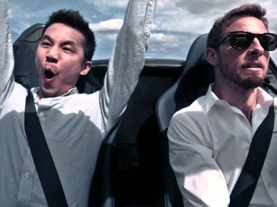 Johnnie Walker Digital Ad -  Win a driving masterclass with Jenson Button