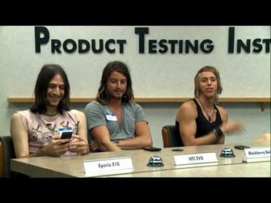 Sony Ericsson Film Ad -  Product Testing Institute, Surfers