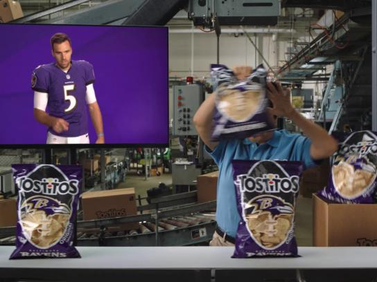 Tostitos Film Ad - Ravens