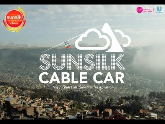 Sunsilk Ambient Ad - Sunsilk Cable Car