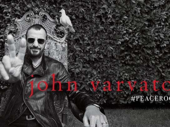 John Varvatos Digital Ad -  #PEACEROCKS