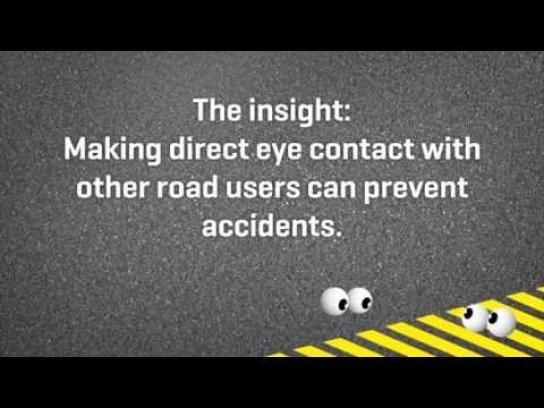 RoadCross Digital Ad -  Eye Navigation