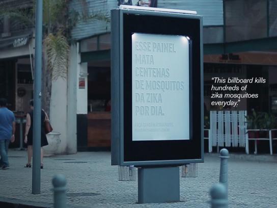 Posterscope Outdoor Ad - Killer billboard