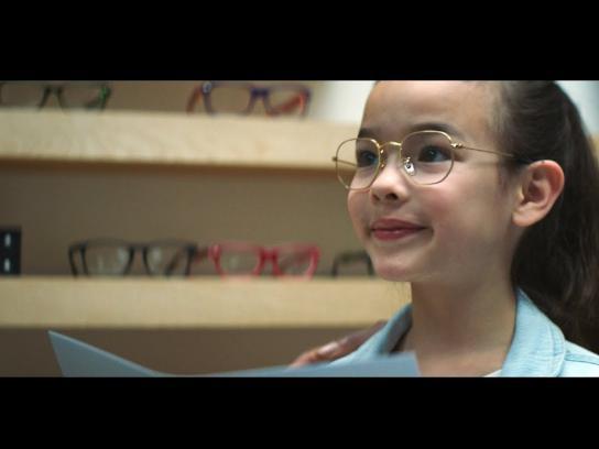 Pearle Vision Film Ad - Olivia